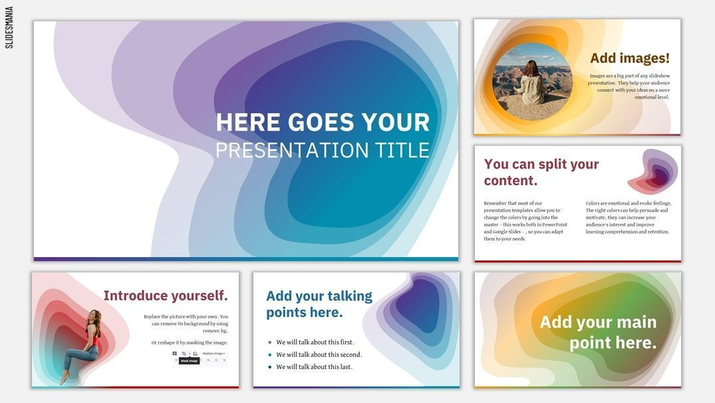 caynon free presentation template