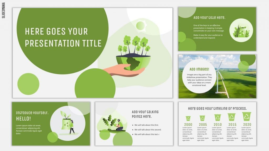 Carlina Free Environmental Template For Google Slides Or Powerpoint Slidesmania