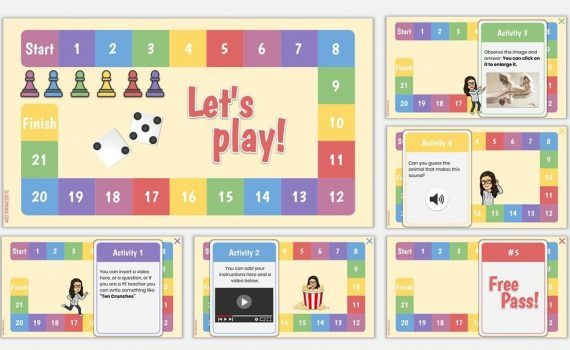 Choice Boards And Games Archives Slidesmania