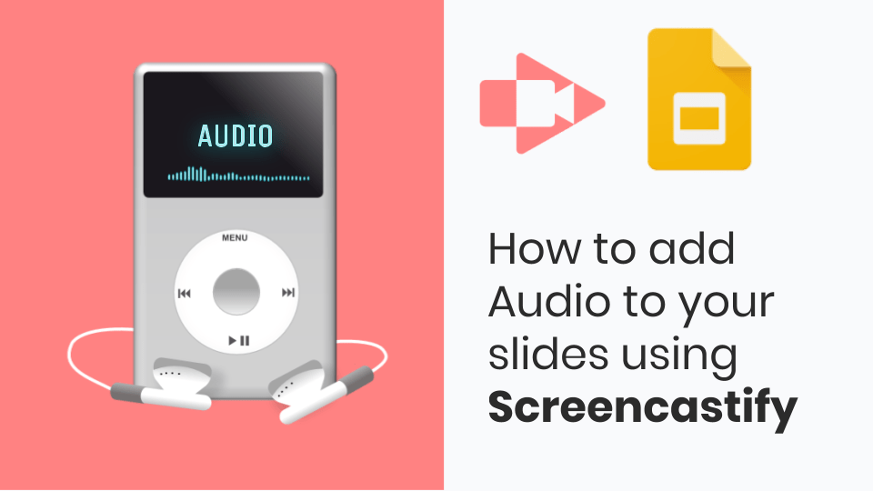How to add Audio to your Google Slides using Screencastify
