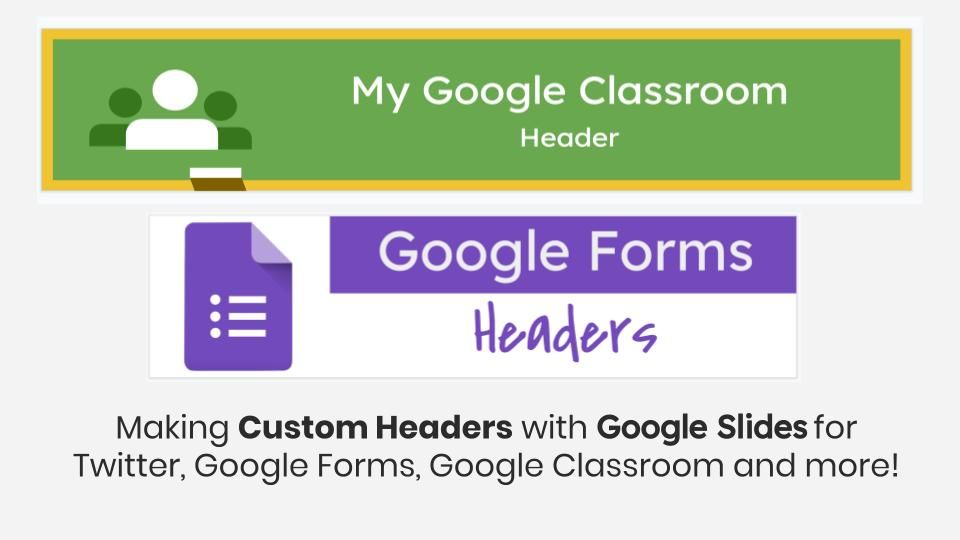 How To Make Custom Headers And Banners With Google Slides Slidesmania