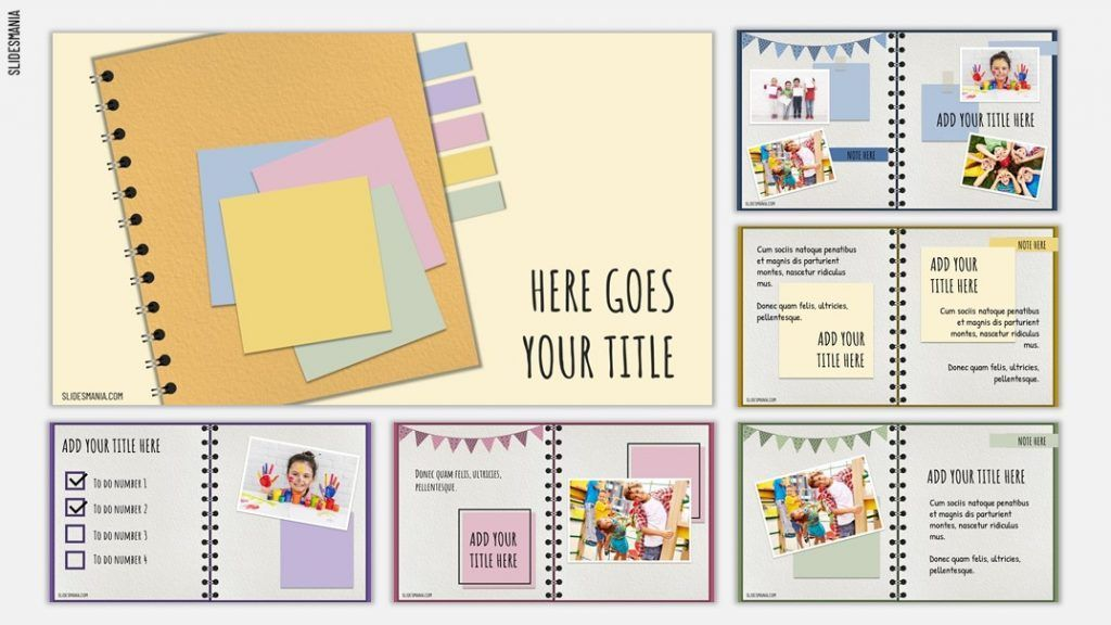Scrapbook Free Template For Google Slides And Powerpoint Slidesmania
