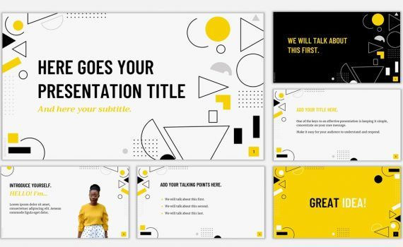 Yellow Templates For Powerpoint And Google Slides Slidesmania
